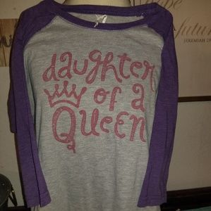 Other - Daughter of a queen purple shirt